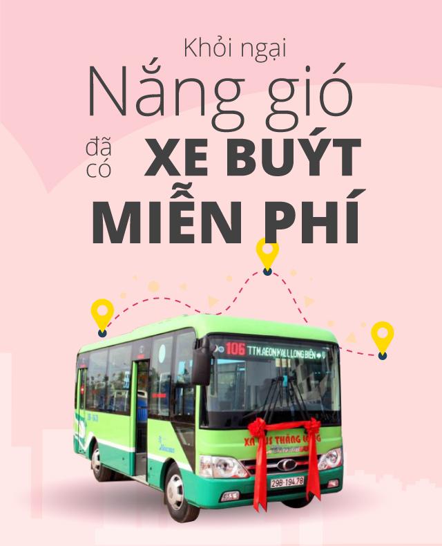 Tuyen xe bus mien phi