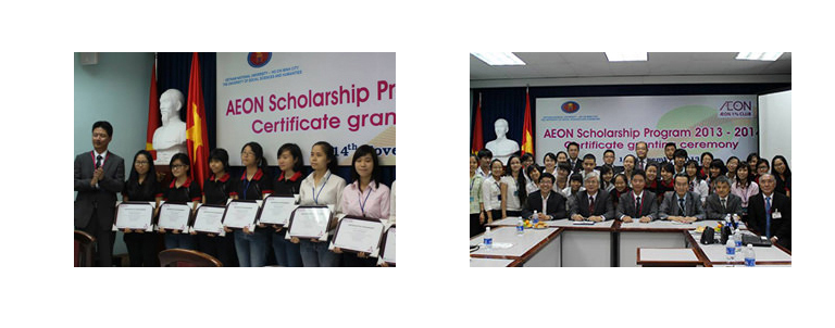 AEON Scholarship Program to Support Asian Exchange Students in Japan and University Students in Asian Countries