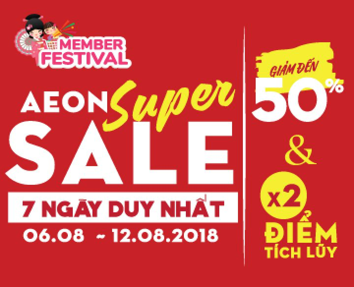 AEON SUPER SALE