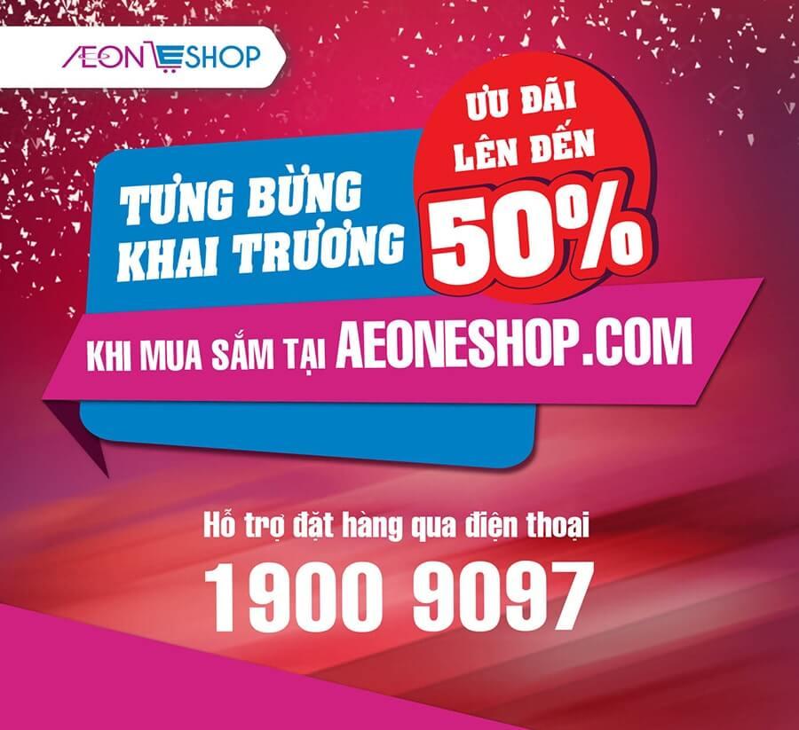 Aeon Việt Nam ra mắt trang thương mại điện tử www.AeonEshop.com