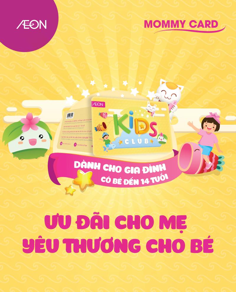 Thẻ Kids Club dành cho gia định có bé đến 14 tuổi