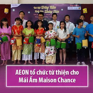 AEON tổ chức từ thiện cho Mái Ấm Maison Chance