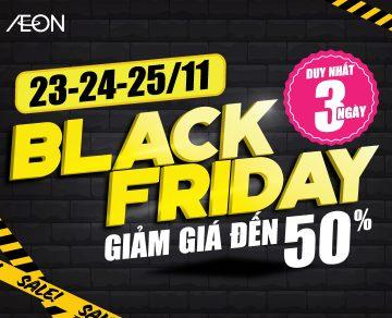 Black Friday Giảm giá đến 50%