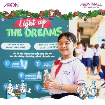 Các bạn học sinh tham gia chương trình Light up the Dreams cùng AEON