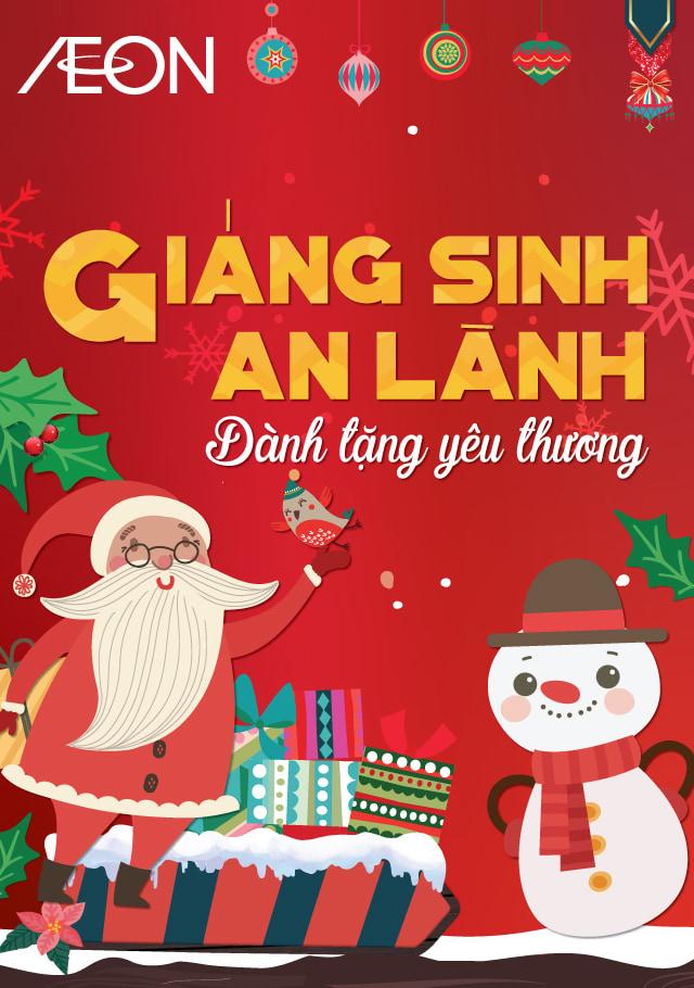 Giáng sinh an lành Dành tặng yêu thương