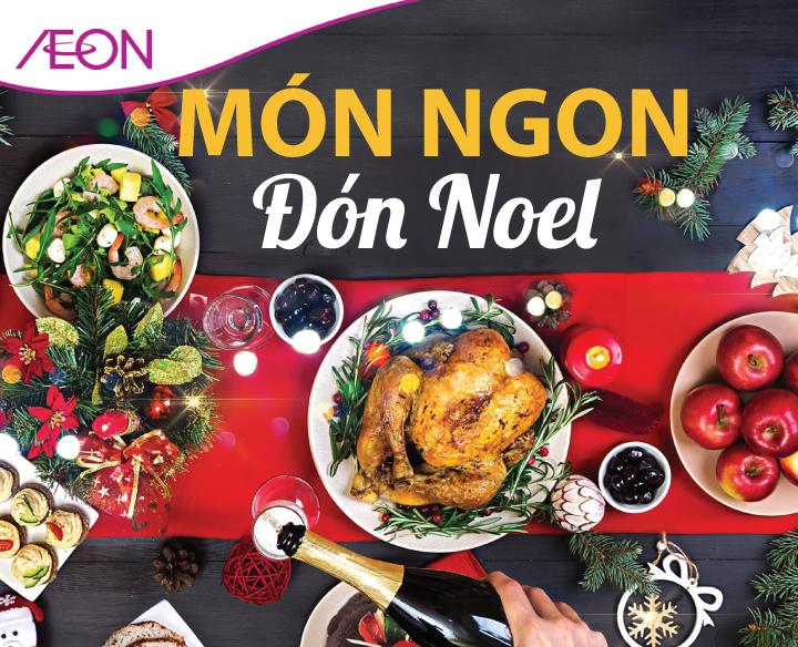 MÓN NGON ĐÓN NOEL