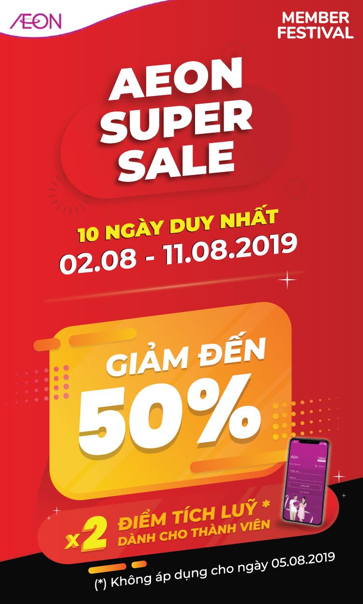 AEON Super Sale