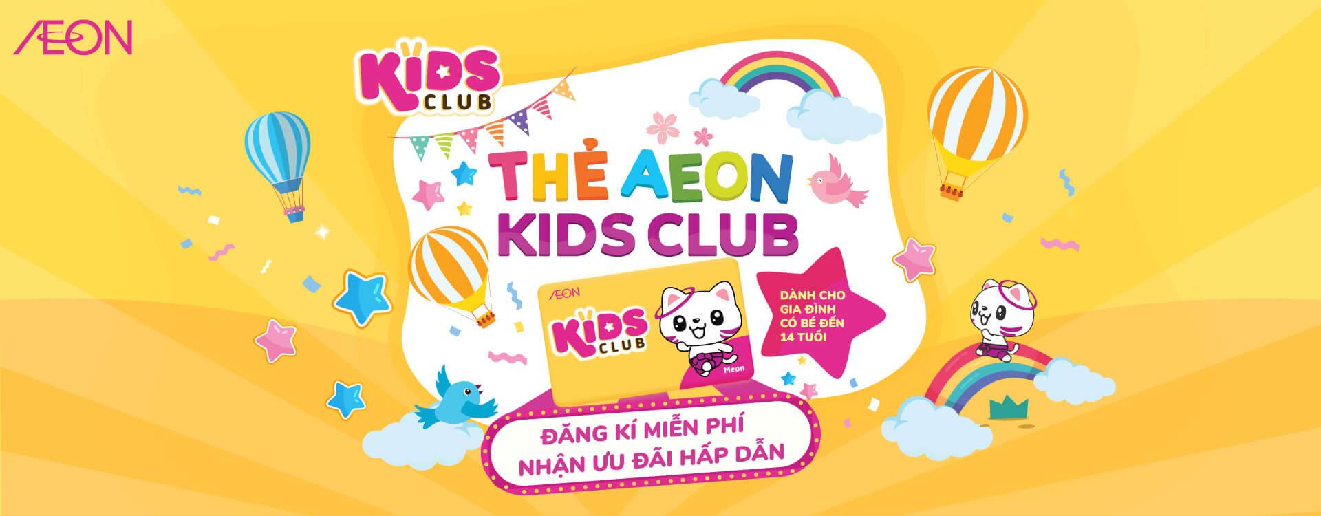 Thẻ Aeon Kids Club