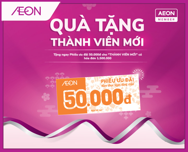 SPECIAL GIFT FOR NEW AEON MEMBER IN 2020