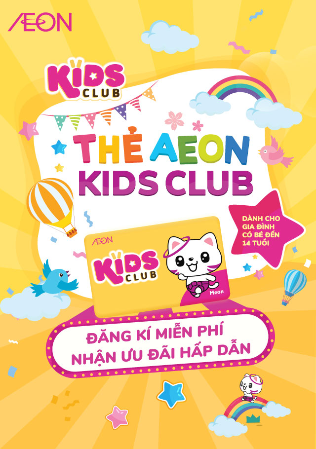AEON KIDS CLUB CARD