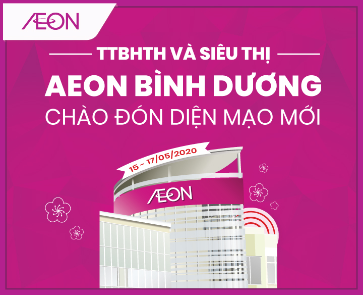 NEW APPEARANCE FOR AEON BINH DUONG