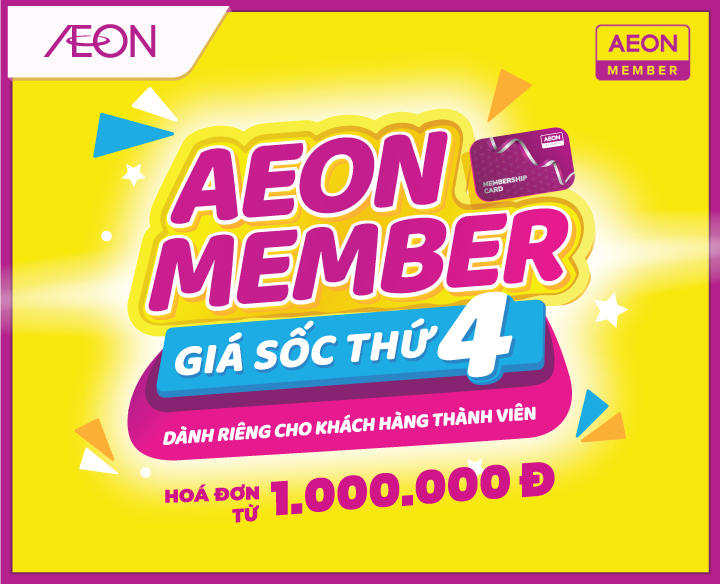 SHOCK PRICE FOR AEON MEMBER