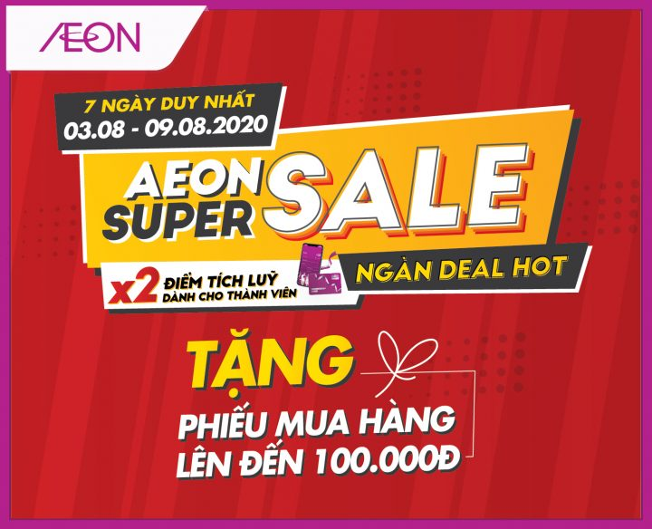 AEON SUPER SALE – AEON IN THE NORTH