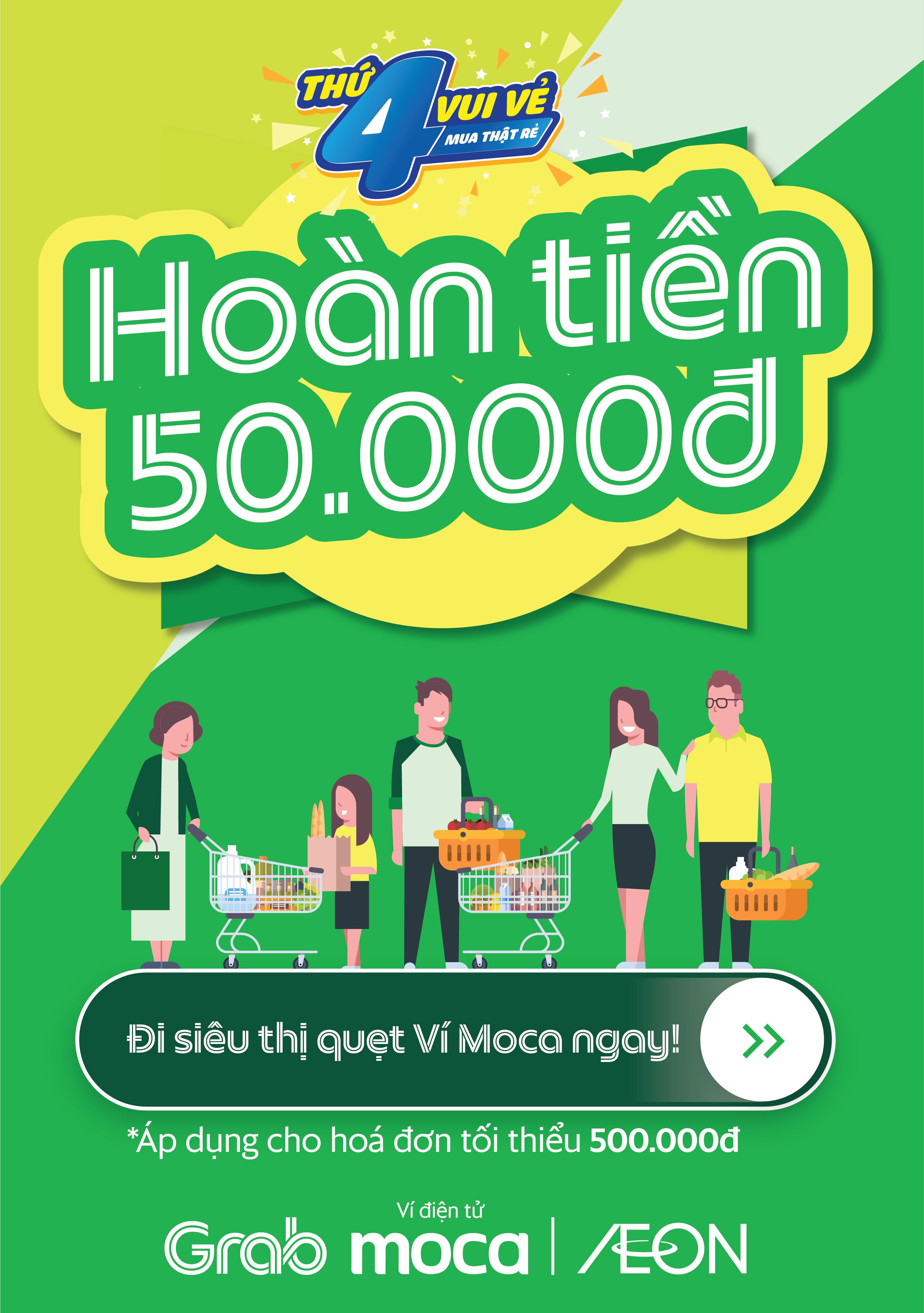 HOÀN TIỀN 50.000Đ