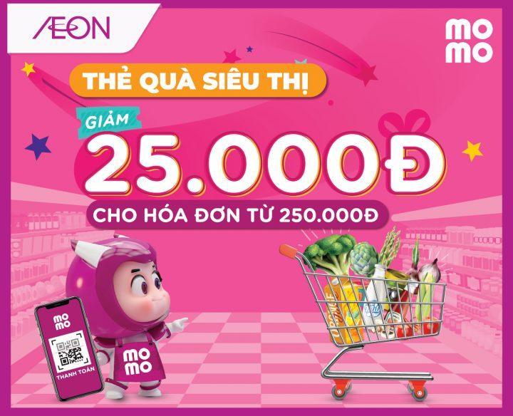 THANH TOÁN MOMO – GIẢM NGAY 25.000Đ